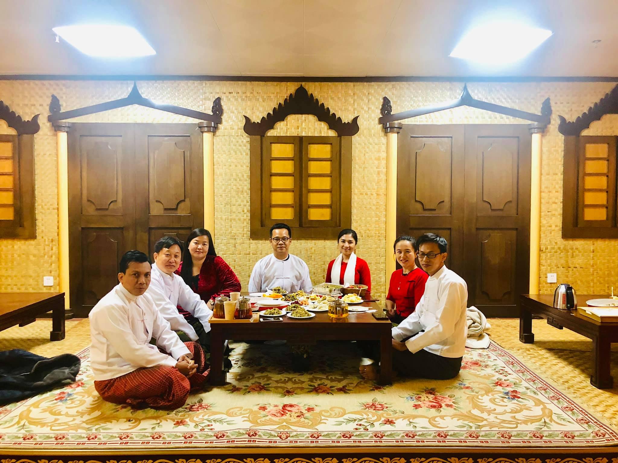 မြန်မာ့လက်ဖက်ဆိုင် တရုတ်နိုင်ငံတွင် ပထမဆုံး စဖွင့်