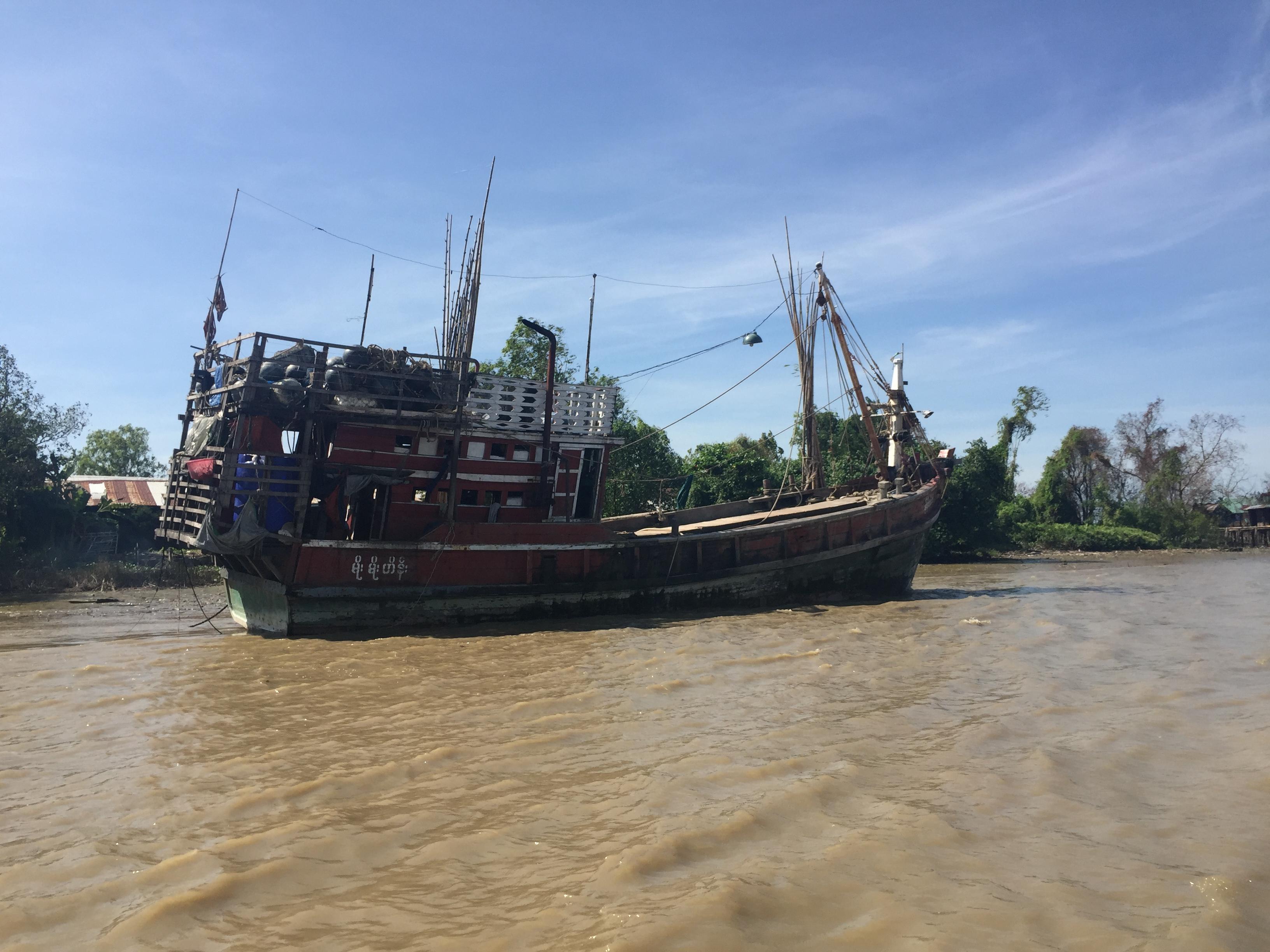 ရာသီဥတုဆိုးရွားစဉ် ကမ်းနီး၊ ကမ်းဝေးငါးဖမ်းရေယာဉ်များ ခိုလှုံရန်နိုင်မည့် နေရာများထုတ်ပြန်