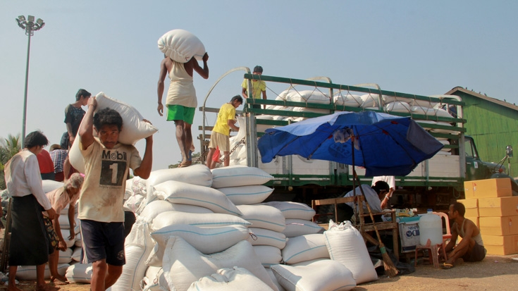 ပြည်ပသို့ ဆန်နှင့်ဆန်ကွဲတင်ပို့ရာတွင် ပူးပေါင်းဆောင်ရွက်ရန်ဖိတ်ခေါ်