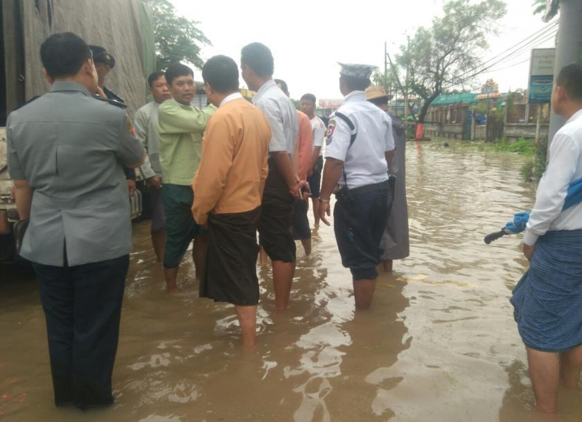 ပဲခူးတိုင်းဒေသကြီးအတွင်းရှိ ဆည်ကိုးခု ရေလျှံကျနိုင်၍ ဆည်အောက်ကျေးရွာနေပြည်သူများအား သတိပေးချက်များထုတ်ပြန်