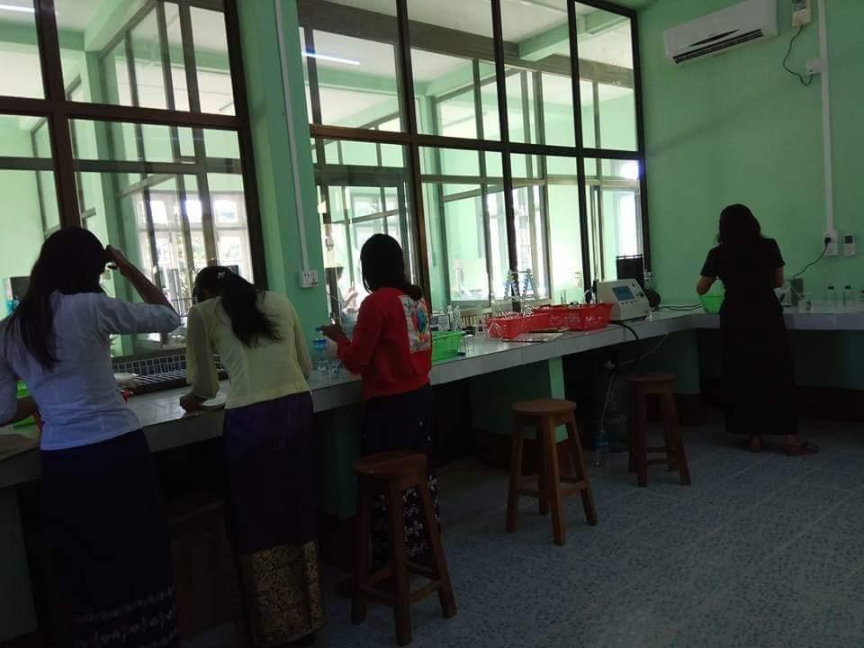 GAP လက်မှတ်ရ သီးနှံများစိုက်ပျိုးမြေတွင် သတ္တုဓာတ်ပါဝင်မှု စစ်ဆေးပေးနေ