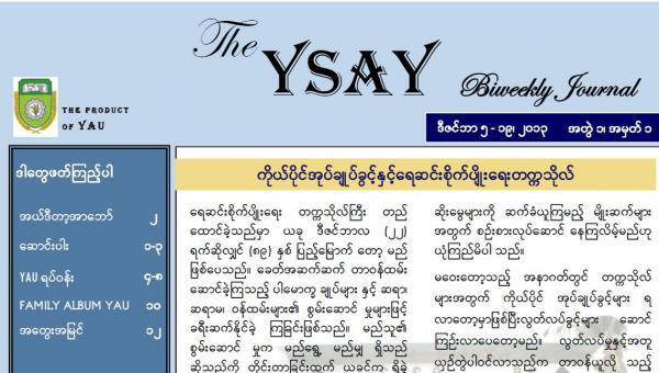 YSAY အဖွဲ့အကြောင်း တစေ့တစ်စောင်း