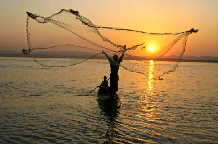 ရန်ကုန်မြစ်အတွင်း တရားမဝင်ငါးဖမ်းဆီးခြင်းကို တားမြစ်ခြင်း