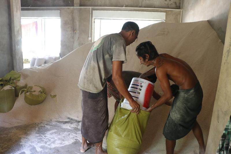 နိုင်ငံတကာ ဆန်အဝယ်ကျ၍ ဆန်တင်ပို့မှုမှ ဝင်ငွေ ကန်ဒေါ်လာသန်း ၁၇၀ ကျော် လျောကျ